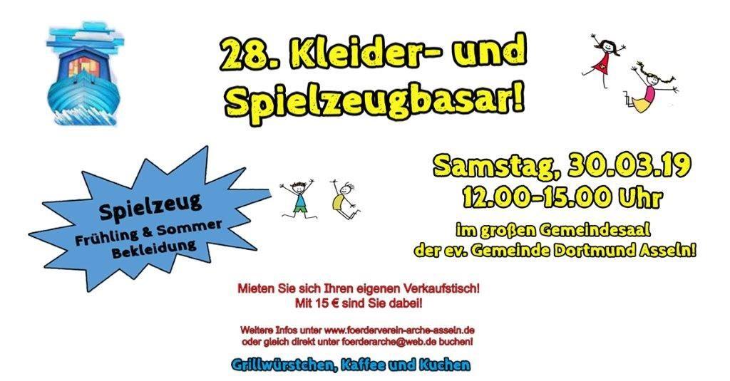 Second Hand Basar ev. Familienzentrum ARCHE, Dortmund